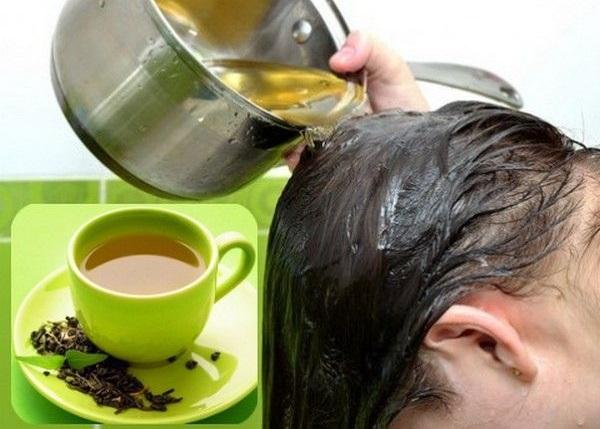 خواص چای سبز برای درمان ریزش مو