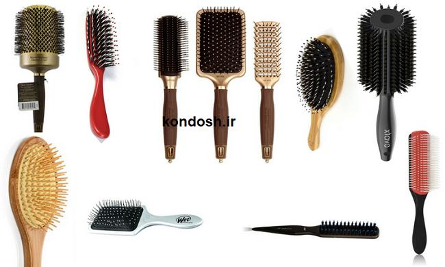 انتخاب برس مو
