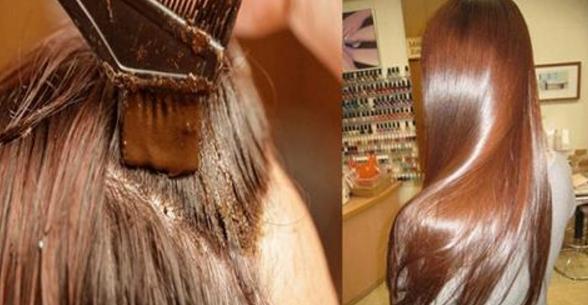 تاثیر حنا بر روی موهای آسیب دیده