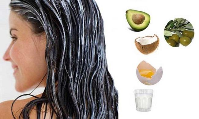 ساختن ماسک گیاهی برای موهای خشک و وز