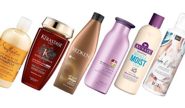 مزایا و معایت شامپو برای موی خشک