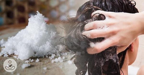 نمک برای تقویت مو