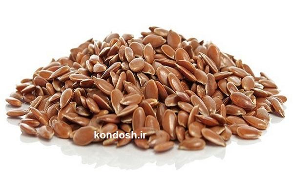 دانه های بذر کتان مناسب برای تقویت مو