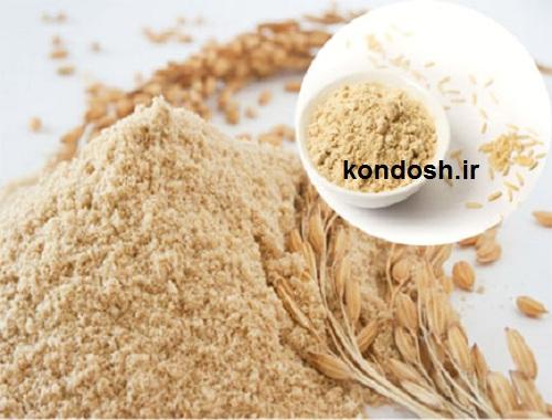 سبوس برنج برای رشد مو