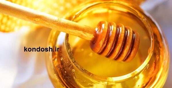عسل برای بدن