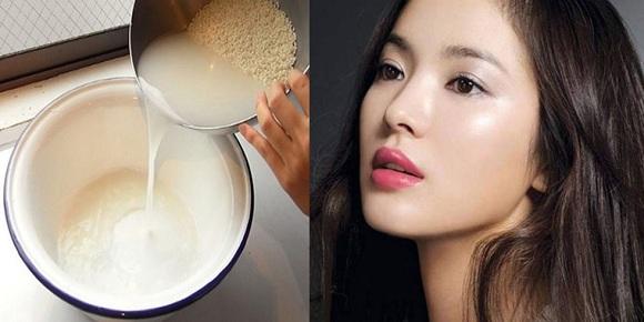 ماسک آب برنج برای زیبایی پوست و بستن منافذ