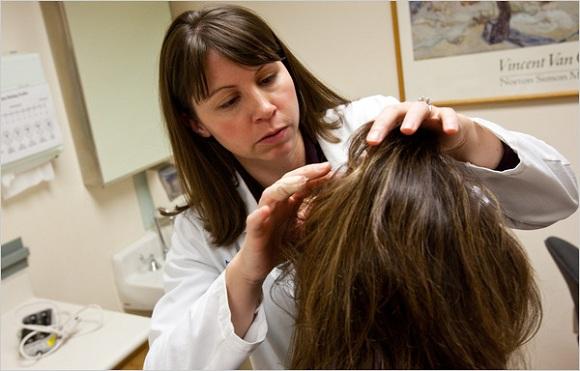درمان ریزش موی زنان